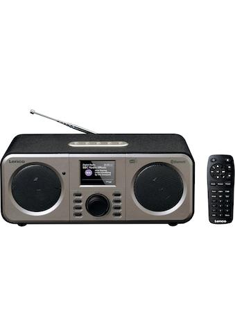Lenco Digitalradio (DAB+) »DAR-030«, (Bluetooth Digitalradio (DAB+)-FM-Tuner ) kaufen