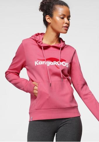 KangaROOS Hoodie, mit coolem Logo-Front-Print - NEUE KOLLEKTION kaufen