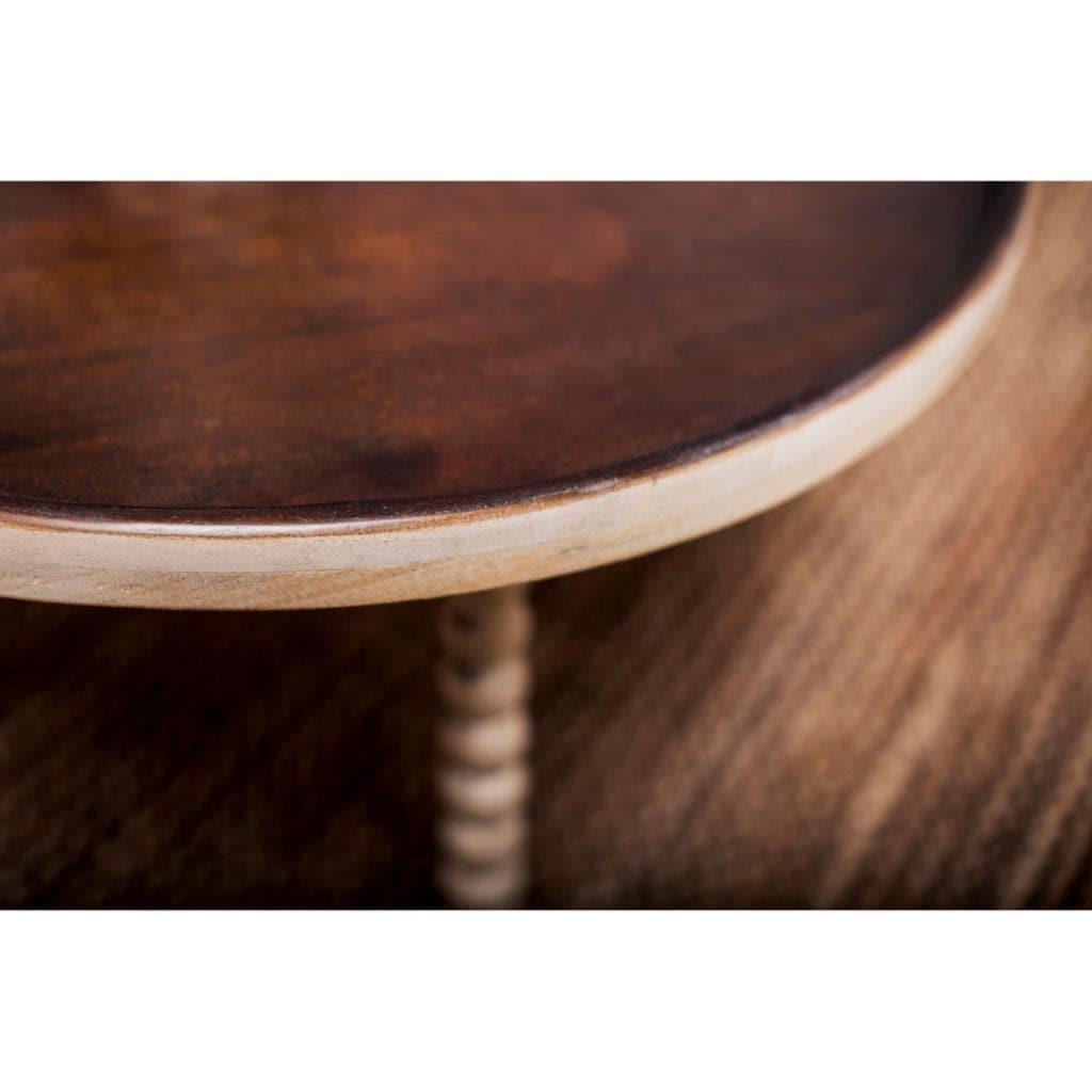 Home affaire Couchtisch »Kayakalp«, in 2 Breiten, mit aufwendig gedrechselten Beinen