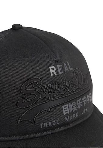 Superdry Trucker Cap, Vintage Logo auf der Vorderseite kaufen
