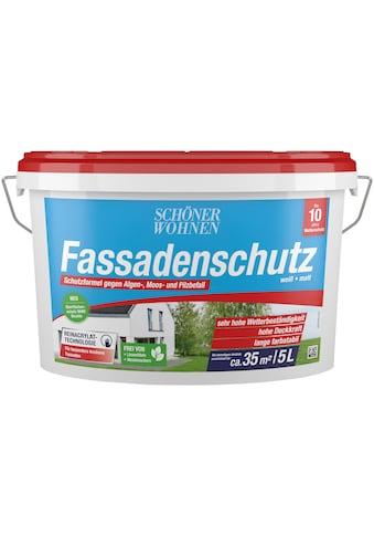 SCHÖNER WOHNEN-Kollektion Fassadenfarbe »Fassadenschutz«, weiß kaufen