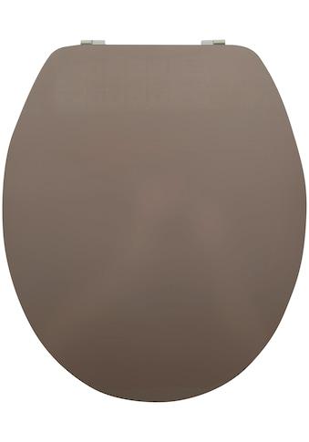 MSV WC-Sitz »WEISS«, Acryl kaufen