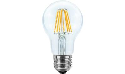 SEGULA LED-Leuchtmittel »Glühlampe«, E27, 1 St., Warmweiß, klare LED Glühlampe, LED Leuchtmittel im Retrolook, Vintage Style LED, nicht dimmbare LED, LED Lampe energieeffizient, hohe Lichtausbeute, LED Glühbrinenform kaufen