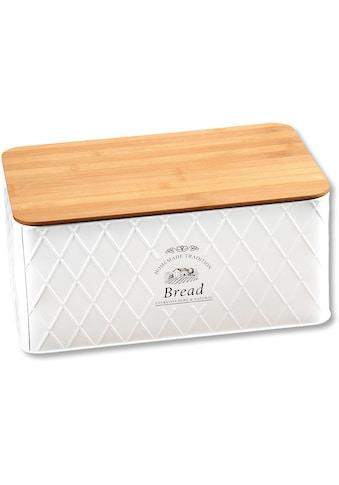 KESPER for kitchen & home Brotkasten, (1 tlg.), abnehmbarer Deckel kaufen