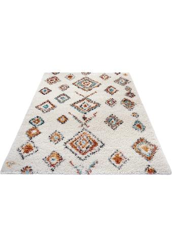Hochflor - Teppich, »Phoenix«, MINT RUGS, rechteckig, Höhe 33 mm, maschinell gewebt kaufen
