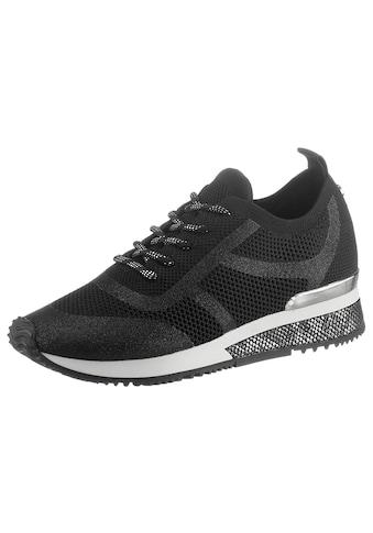 La Strada Sneaker »Fashion Sneaker«, mit Besatz in Reptilienoptik kaufen