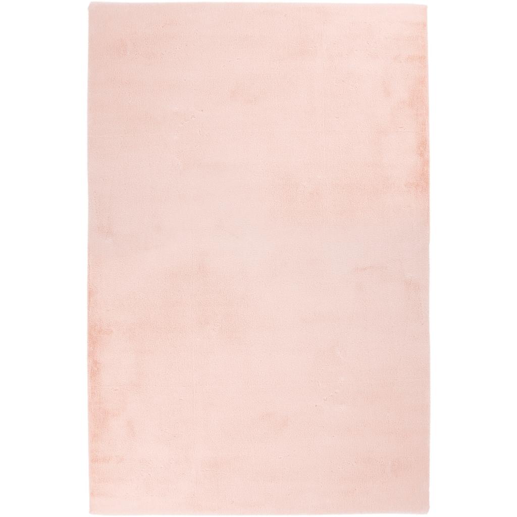 Obsession Fellteppich »My Cha Cha 535«, rechteckig, 18 mm Höhe, Kunstfell, ein echter Kuschelteppich, Wohnzimmer