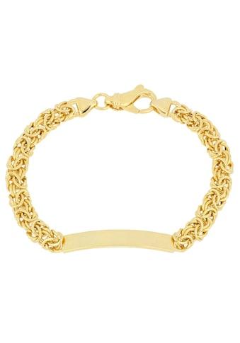 Firetti Armband »ID - Armband Gravur - Artikel, glänzend, vergoldet, halbmassiv« kaufen