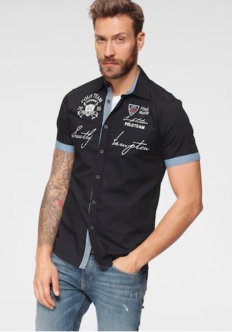 TOM TAILOR Polo Team Kurzarmhemd, mit Logofrontprint kaufen