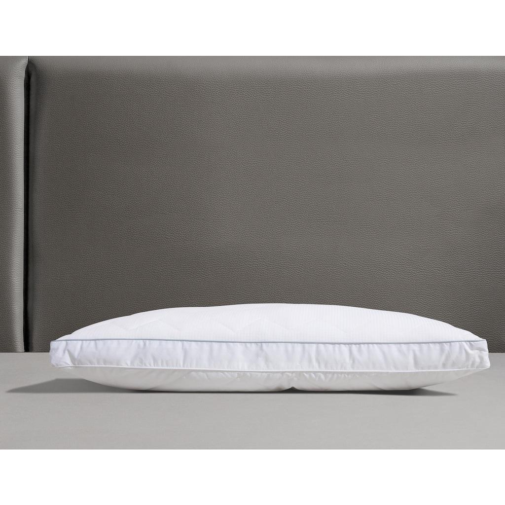 DELAVITA Kunstfaserkopfkissen »Onyx II«, Füllung: 3D Polar Soft, Bezug: Baumwolle, (1 St.), atmungsaktiv und sorg für einen erholsamen Schlaf