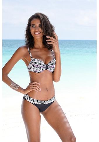 LASCANA Bikini-Hose »Belize«, mit Umschlagbund kaufen