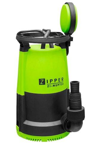 ZIPPER Gartenpumpe »ZI - MUP750«, Multipumpe, 12.000 l/h Fördermenge kaufen