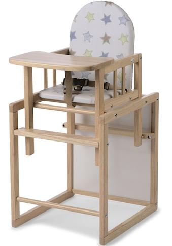 Geuther Kombihochstuhl »Nico, natur Sterne«, zur Kindersitzgarnitur umbaubar kaufen