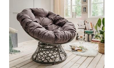 DESTINY Loungesessel »Coco Sit Schwenksessel«, Polyrattan, drehbar kaufen