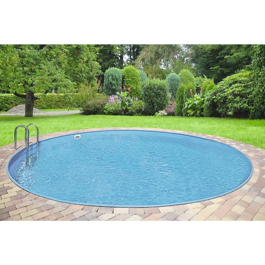 Clear Pool Rundpool »Premium Ibiza«, (Set)