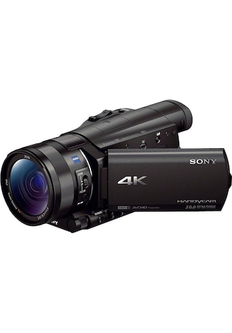 Sony Camcorder »FDR-AX100«, 4K Ultra HD, NFC-WLAN (Wi-Fi), 12x opt. Zoom, Golf Shot,... kaufen