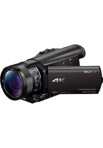 Sony Camcorder »FDR-AX100«, 4K Ultra HD, NFC-WLAN (Wi-Fi), 12x opt. Zoom, Golf Shot, CinemaTone kaufen