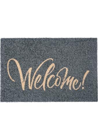 my home Fußmatte »Bente«, rechteckig, 5 mm Höhe, mit Spruch, In- und Outdoor geeignet,... kaufen