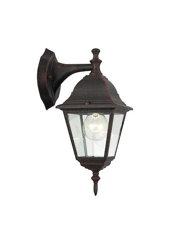 Brilliant Leuchten Newport Außenwandleuchte hängend rostfarbend kaufen