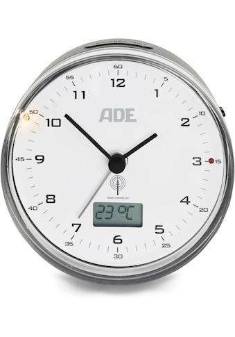 ADE Funkwecker »CK2022«, (1 tlg.), Runder Funkwecker mit Temperaturanzeige kaufen