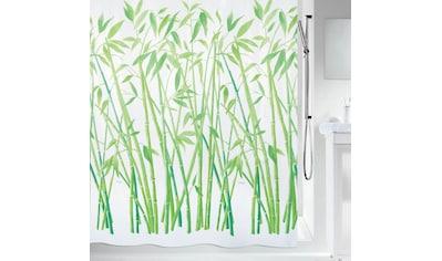 spirella Duschvorhang »BAMBUS«, Breite 120 cm, wasserabweisend kaufen