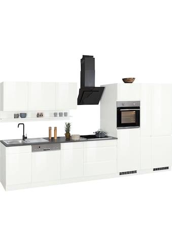 HELD MÖBEL Küchenzeile »Virginia«, ohne E-Geräte, Breite 390 cm kaufen