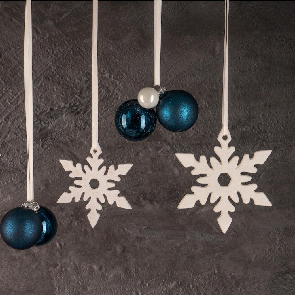 Fabriano Dekohänger »Eiskristall Nerea«, Ø 15 cm