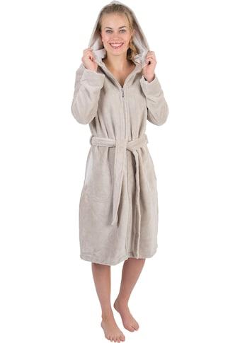 Wewo fashion Damenbademantel »6122«, mit Schubtaschen kaufen