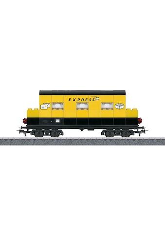 Märklin Güterwagen »Märklin Start up - Bausteinwagen mit Lichtbausteinen - 44737« kaufen