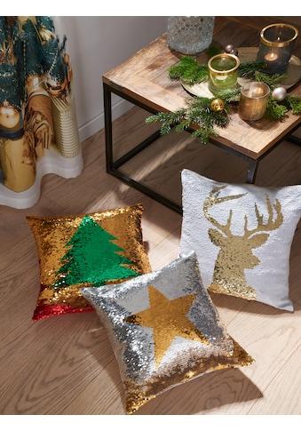 """Kissenhülle """"Weihnachtsbaum"""" my home kaufen"""