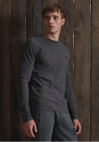 Superdry Langarmshirt »OL VINTAGE EMB LS TOP« kaufen