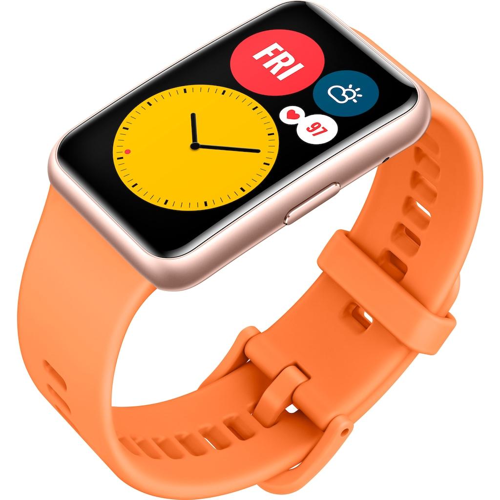 Huawei Smartwatch »Watch Fit«, (24 Monate Herstellergarantie)