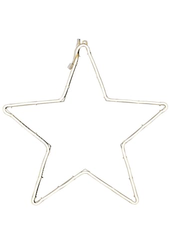 KONSTSMIDE LED Stern, LED-Modul, 1 St., Warmweiß, LED Schlauchsilhouette, Stern kaufen