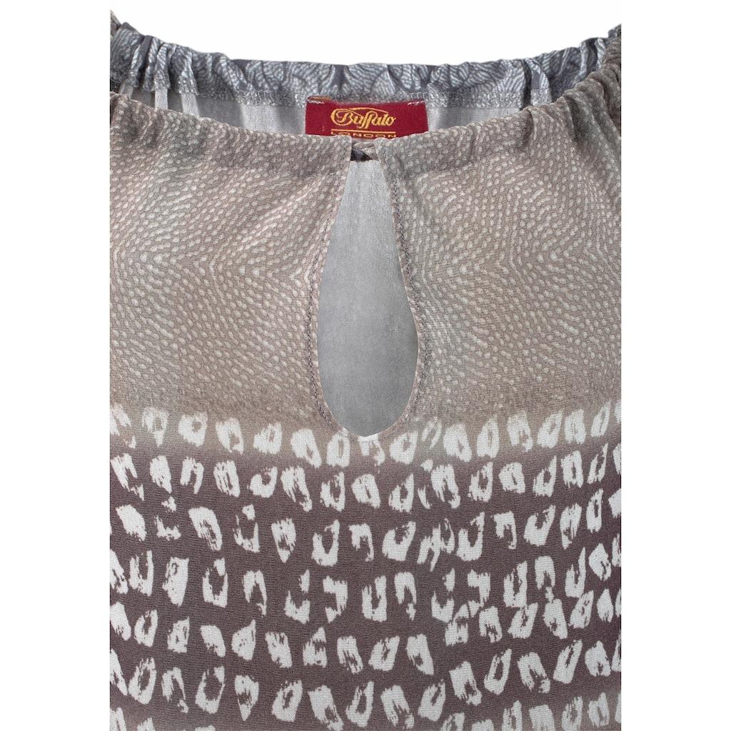 Buffalo Strandkleid, mit Alloverprint