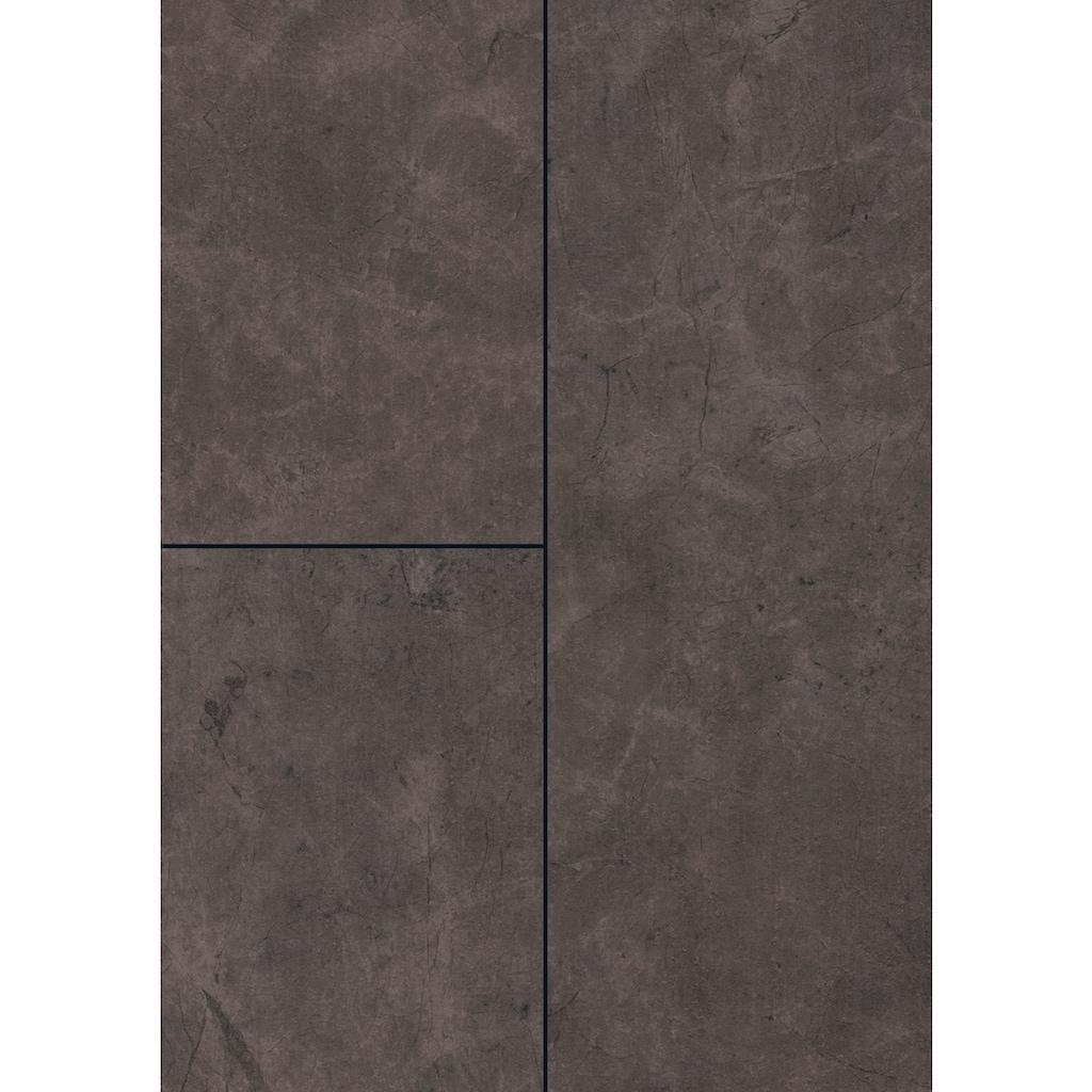 EGGER Laminat »EGGER HOME Schiefer anthrazit«, pflegeleicht, 1291 x 327 mm, Stärke: 8 mm