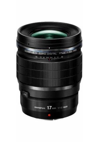 Olympus Festbrennweiteobjektiv »M.ZUIKO 17 mm PRO« kaufen