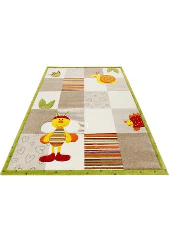 Esprit Kinderteppich »Kids Bee 2.0«, rechteckig, 13 mm Höhe, Kinder Motiv Teppich kaufen