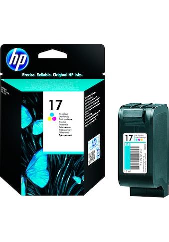 HP »hp 17 Original Cyan, Magenta, Gelb« Tintenpatrone (1 - tlg.) kaufen