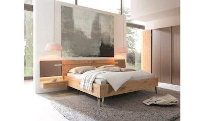 THIELEMEYER® Massivholzbett »Cubo«, Bettseitenhöhe 46 cm kaufen