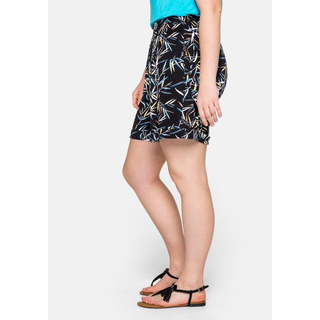 Sheego Shorts, mit breitem, elastischen Bund
