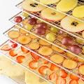 Klarstein Dörrautomat Dörrgerät Dehydrator Obsttrockner Timer 6 Ablagen »Fruit Jerky Plus«