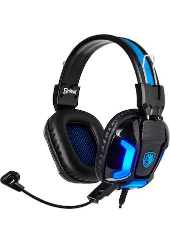 Sades Gaming-Headset »Element SA-702«, blaue LED Beleuchtung kaufen