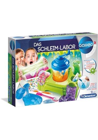 Clementoni® Experimentierkasten »Galileo Das Schleim-Labor«, Made in Europe kaufen