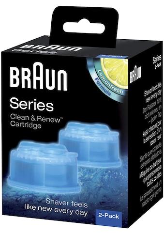 Braun Reinigungskartusche Clean & Renew CCR, Zubehör für Braun Clean&Charge Reinigungsstationen kaufen