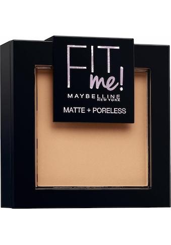 MAYBELLINE NEW YORK Puder »FIT ME«, matte + poreless kaufen