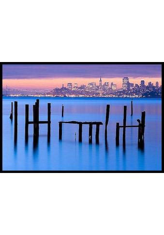 Home affaire Bild »J.MURRAY/Sausalito«, 81/61cm, gerahmt kaufen
