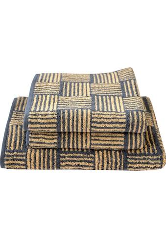Dyckhoff Handtuch Set »Golden Shades Basket«, mit graphischem Muster kaufen