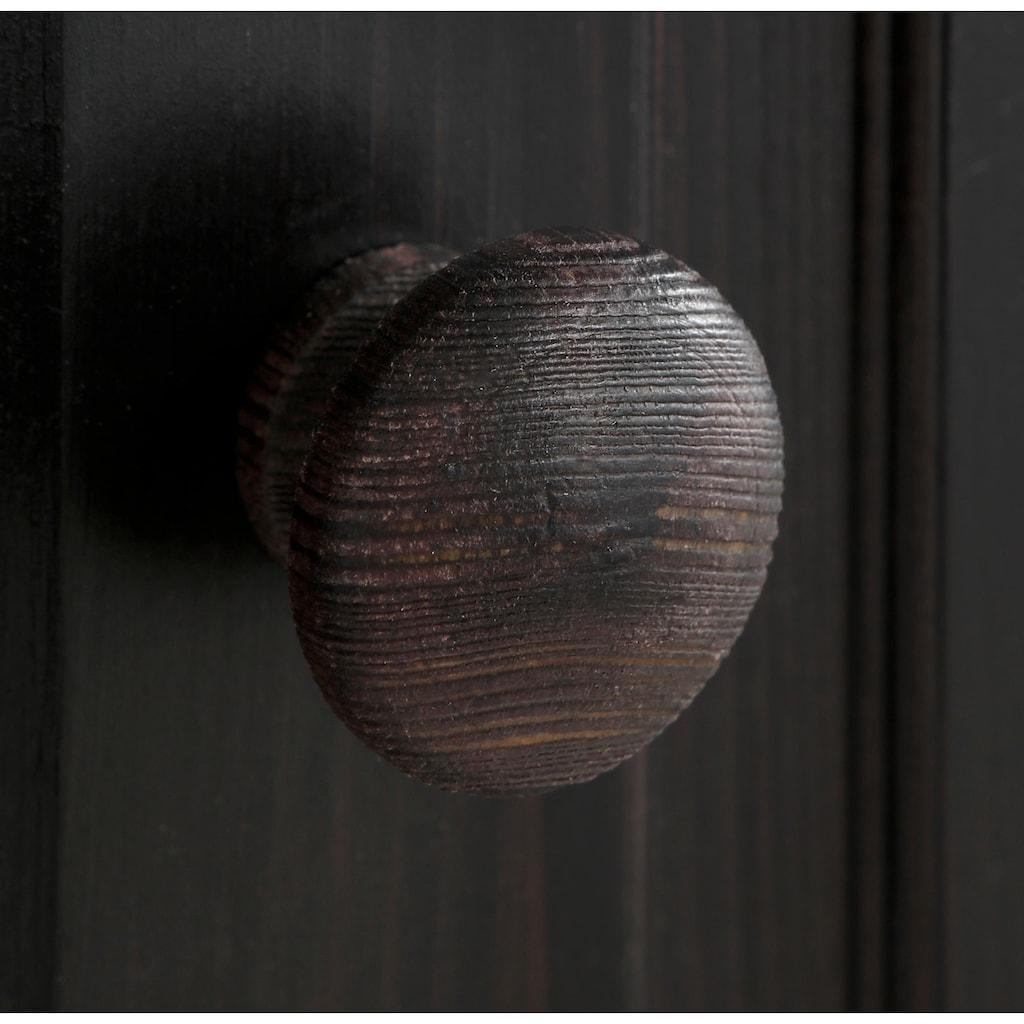 Home affaire Kleiderschrank »Emden«, aus schönem massivem Kiefernholz, in unterschiedlichen Farbvarianten, Breite 168 cm
