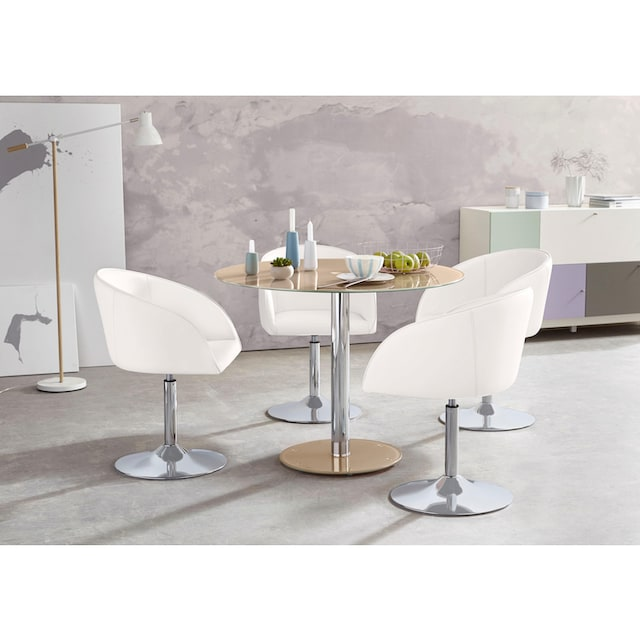 MCA furniture Glastisch »Falko«