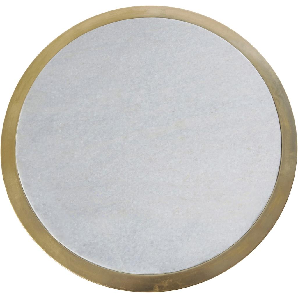 Leonique Beistelltisch, mit Marmor-Platte